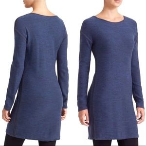 ATHLETA Blue Retreat Sweater Dress Size XS
